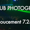 Nightclub Photography TV Important Announcement