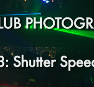 Episode  8 Part 2: Shutter Settings